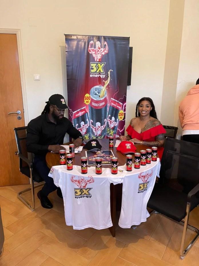Neide Sofia e Gregório Arthur tornam-se nos embaixadores da bebida energética 3X ENERGY DRINK