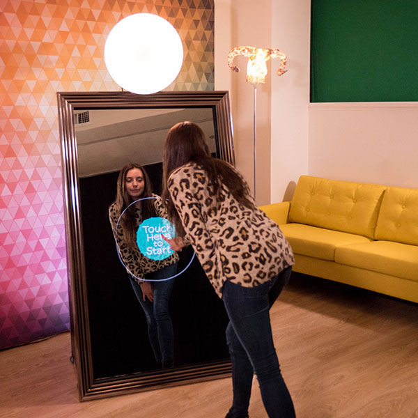 Magic Mirror Photo Booth Columbus for Weddings