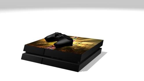 PS4 Full Render 2.1