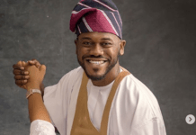 Actor Deyemi Okanlawon, Wife Celebrate 7th Wedding Anniversary