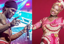 Angelique Kidjo dedicates her Grammy Award to Burna Boy in touching speech