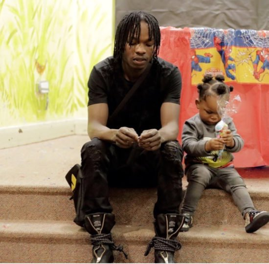 Meet Naira Marley's First Son Jojo That Looks Exactly Like Him