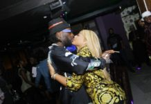 Burna Boy and bae, Stefflon Don all loved up at his 28th birthday party