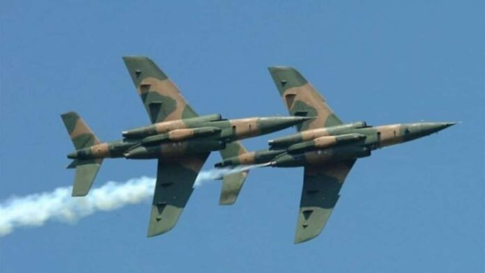 Nigeria airforce strike