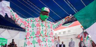 Obaseki during campaign