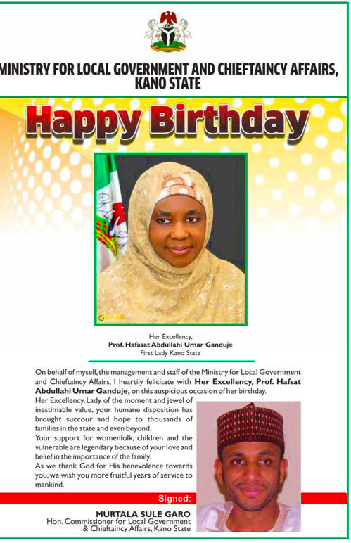 Kano-First-lady-birthday