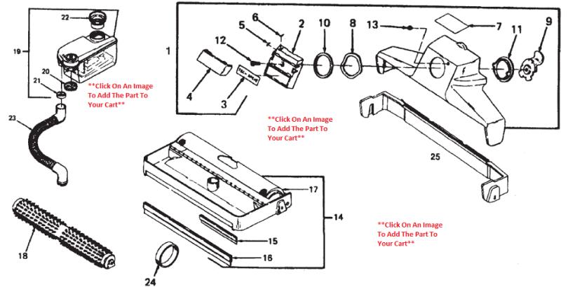 kirby shampooer diagram wiring diagrams
