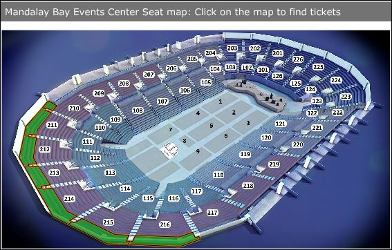Chase Seating Concert Field