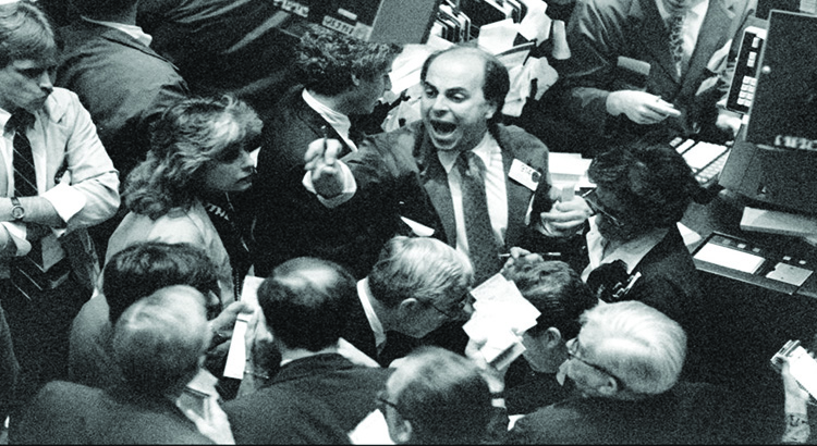 Black Monday refers to Monday October 19 1987