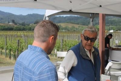 Talking wine with George Unti, owner of Unti Vineyards