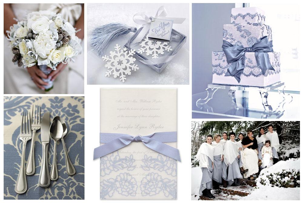 2012 Wedding Colors Winter Weddings 101 Platinum