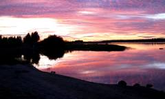 Solnedgång i Torneå