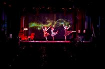 Dansgrupp på företagsevent