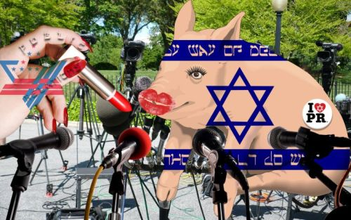 zionist lipstick israel