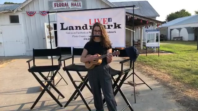 Landmark Live! with a touch of folk music for ya a young musician plays the ukulele and harmonica at the same time thumbnail.jpg