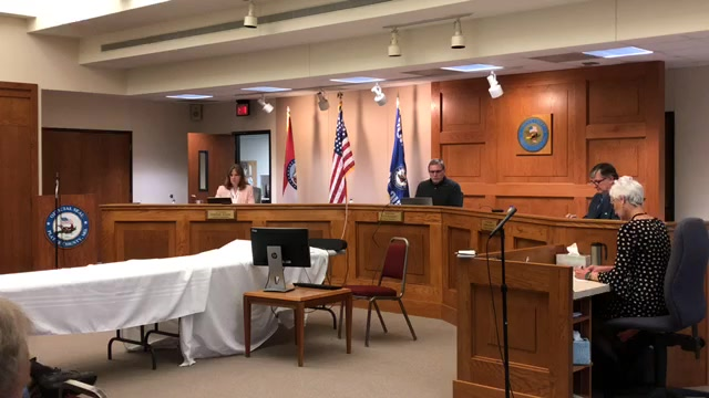 Landmark Live! platte county commission meeting a proposed change to county code pertaining to criminal penalties for violation of a health order thumbnail.jpg