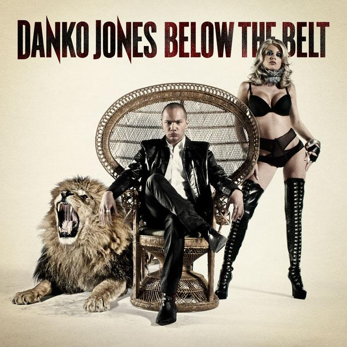 Danko Jones Below The Belt Cover
