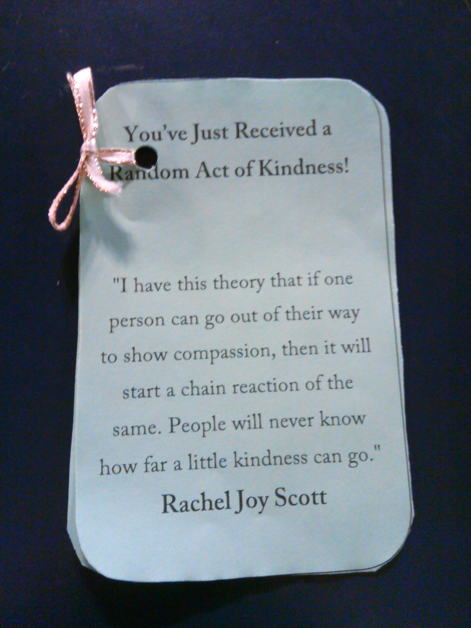 Plattsburgh Random Acts Of Kindness Where One Random Act Of Kindness Can Start A Chain Reaction