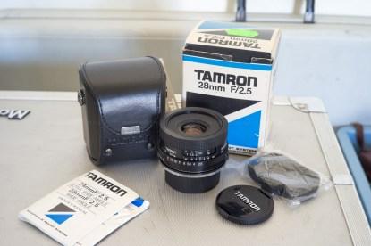 TAMRON ADAPTALL 28mm F:2.8 COMME NEUF EN BOITE {PENTAX K}