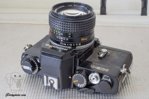Minolta XE-1 + 50mm F:1.4