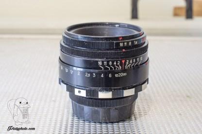 Helios 44-2 58mm F:2 Zebra