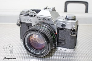 Canon AT-1 + 50mm F:1.4