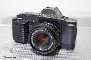 Canon T70 data back + 50mm F:1.8