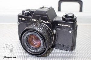 Praktica B100 + 50mm F:1.8 + 135mm F:2.8