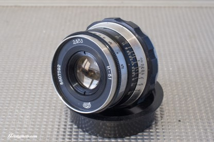 M39 Industar 61 52mm F:2.8 6 lames