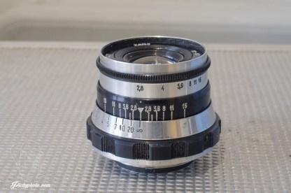 M39 Industar 61 52mm F:2.8 10 lames