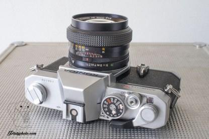 Konica Autoreflex T3 + Hexanon 50mm F:1.4