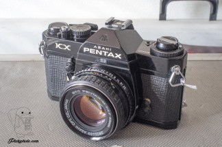 Pentax KX + SMC Pentax 50mm F:1.7