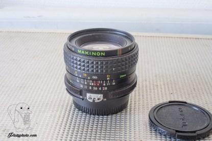 Makinon 28mm F:2.8 Nikon F