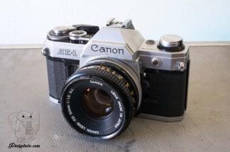 Canon AE-1 + 50mm F:1.8