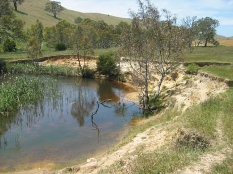 erosion near site W17