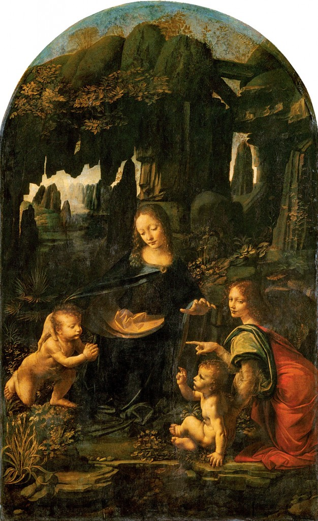 Leonardo da Vinci, Virgin of the Rocks (1483-1486), Louvre, Paris