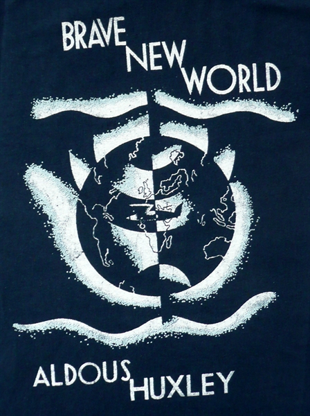 Brave New World cover art.