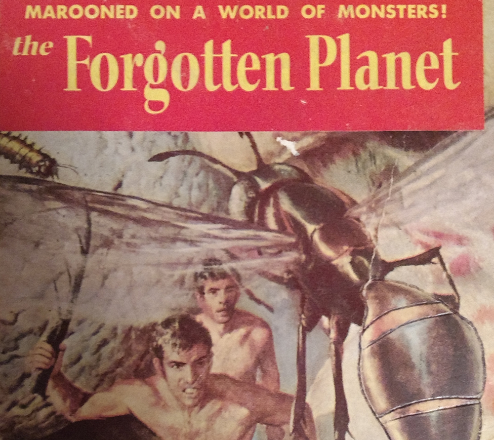 The forgotten planet cover art