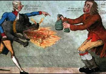 Income Tax Cartoon from 1799