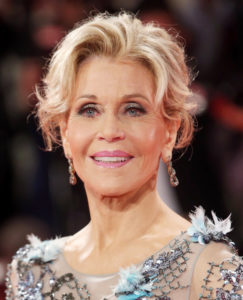 VENICE, ITALY - SEPTEMBER 01: Jane Fonda walks the red carpet ahead of the 'Our Souls At Night' screening during the 74th Venice Film Festival at Sala Grande on September 1, 2017 in Venice, Italy. (Photo by Franco Origlia/Getty Images)