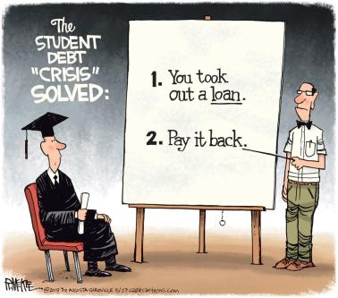 Pay your debt
