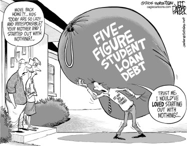 starting with debt