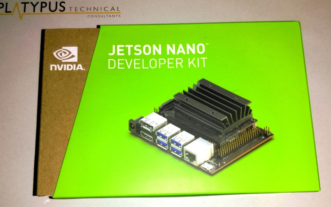 Getting a Jetson Nano up and running