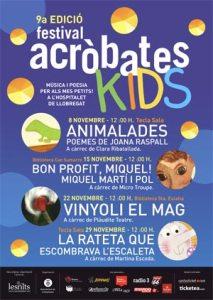 Festival Acrobates Kids amb Plàudite Teatre