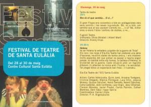 8è Festival d'Arts Escèniques de Sta Eulalia L'H 2010