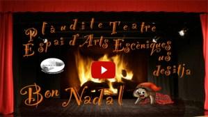 Nadala 2014 de Plàudite Teatre-Espai d'Arts Escèniques de L'Hospitalet de Llobregat, Barcelona