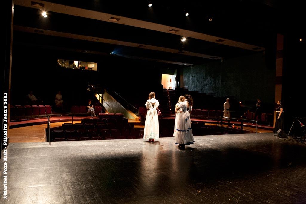 Assaig al Teatre Joventut L'H