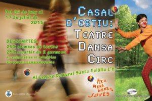 Casal d'estiu 2015 de Teatre, Dansa i Circ