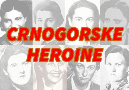 Crnogorske heroine