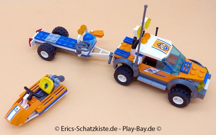 Lego® 7737 [City] Geländewagen der Küstenwache mit Wasserjet Coast Guard 4WD & Jet Scooter (Get it @ PLAY-BAY.de)